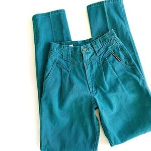 Rocky Mountain | VTG Teal High Waisted Jeans 24